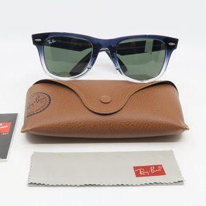 RB 2140 New Blue Gradient Wayfarer Sunglasses